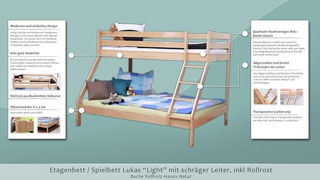 Etagenbett Lukas Aufbauanleitung : Möbelando etagenbett kinderbett hochbett stockbett jugendbett