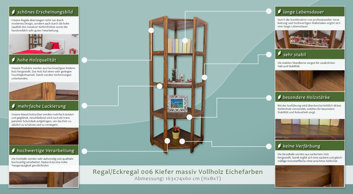 holzregal 60 cm tief. Black Bedroom Furniture Sets. Home Design Ideas