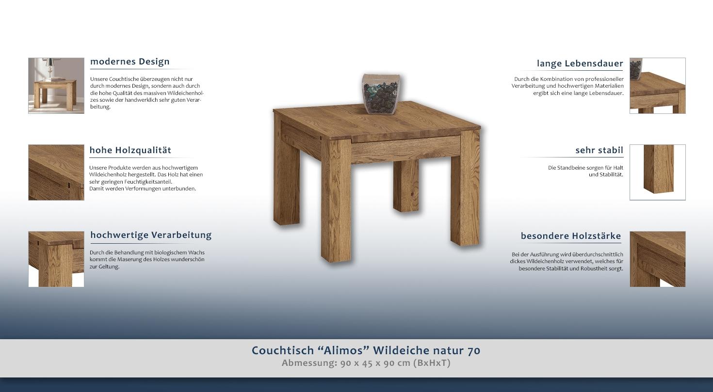 couchtisch holz eiche 349 3383 h rm willhaben. Black Bedroom Furniture Sets. Home Design Ideas