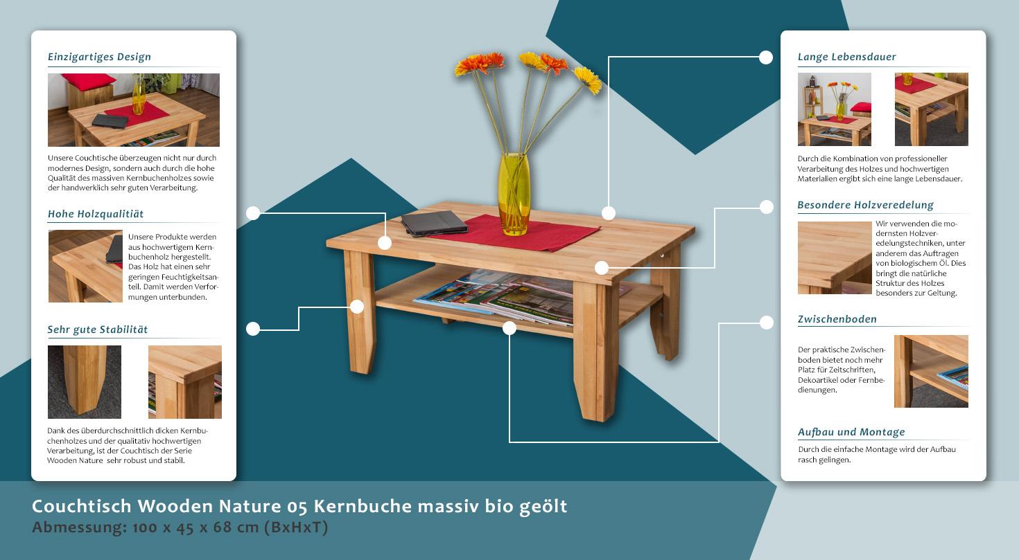 couchtisch buche 159 3383 h rm willhaben. Black Bedroom Furniture Sets. Home Design Ideas