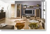 Wohnzimmer komplett set f arowana farbe eiche for Wohnlandschaft zusammenbauen