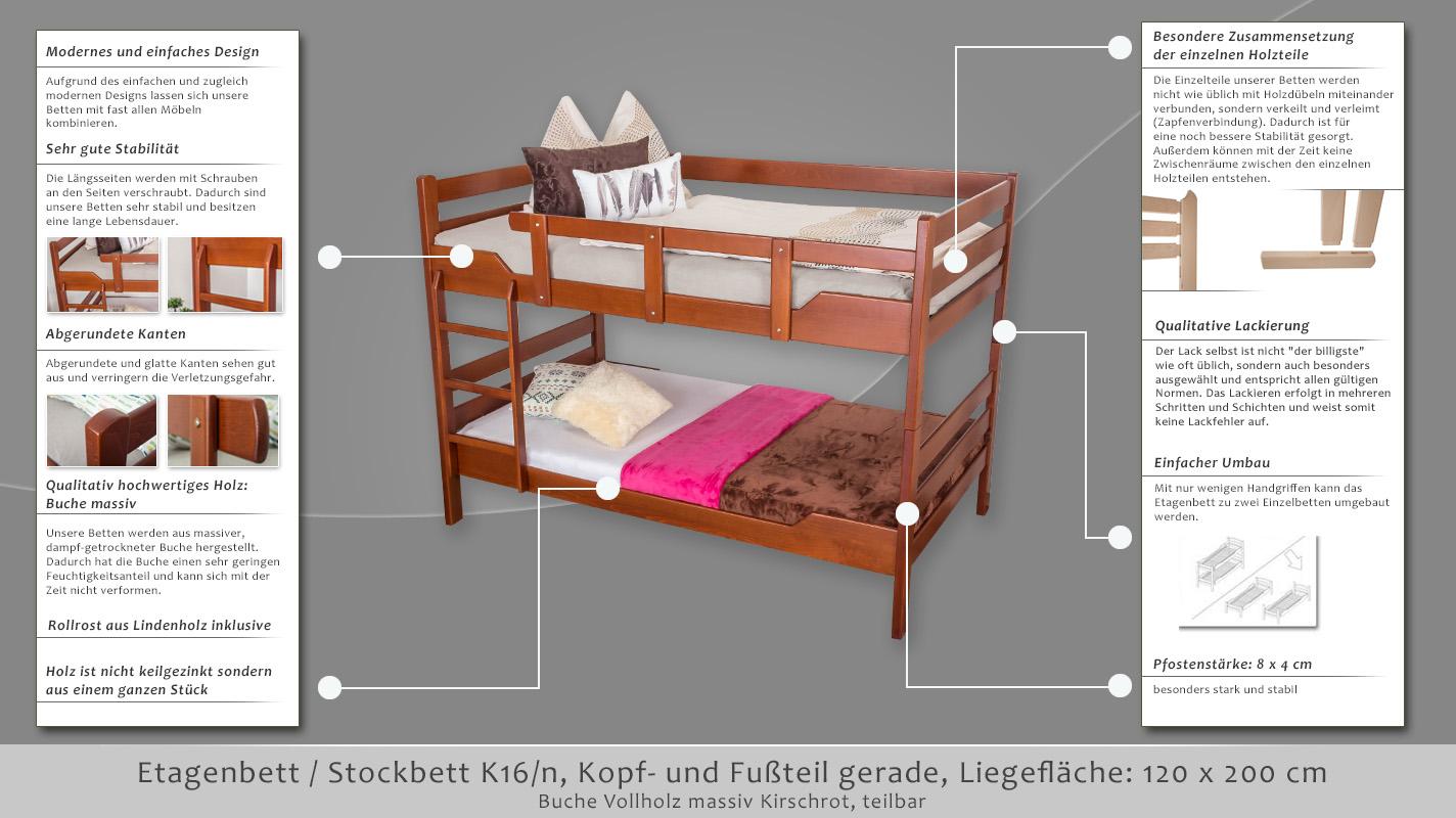 Etagenbett Moritz Buche : Etagenbett moritz best kinderbett jugendbett easy mbel kn buche