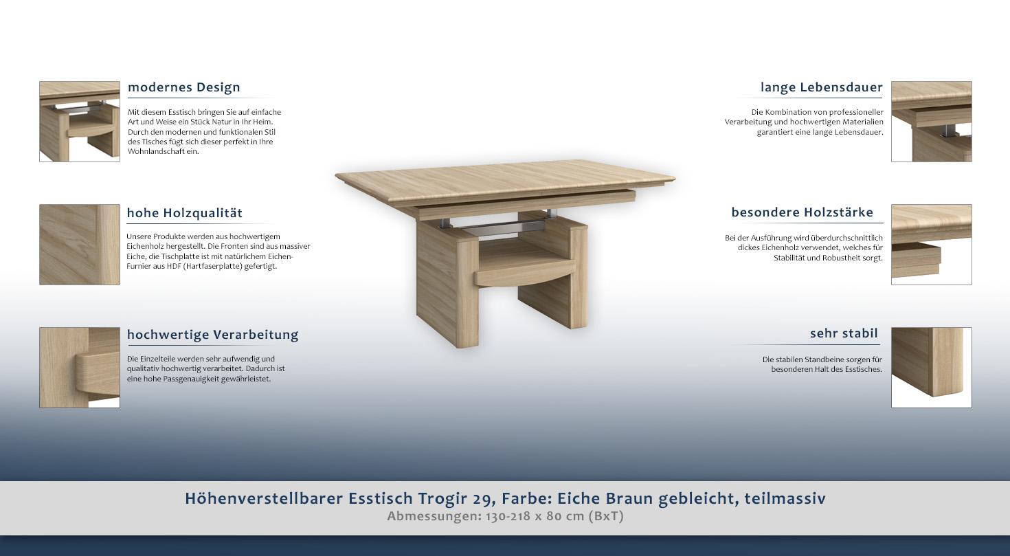 Esstisch Hochwertig. Elegant Esstisch Holz Massiv Elegant Esstisch ...