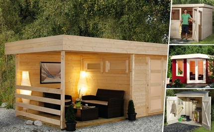 gartenhaus flachdach gartenh user flachdach. Black Bedroom Furniture Sets. Home Design Ideas