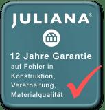 Juliana 12 Jahre Garantie