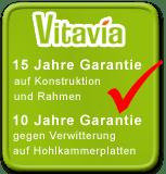 Vitavia 15 Jahre Garantie