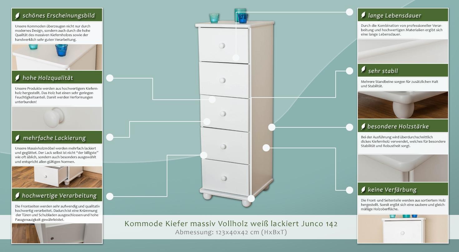 schubladenkommode bis 45 cm breite 179 3383 h rm. Black Bedroom Furniture Sets. Home Design Ideas