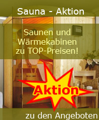GROSSE SAUNA AKTION