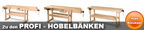 Profi Hobelbänke
