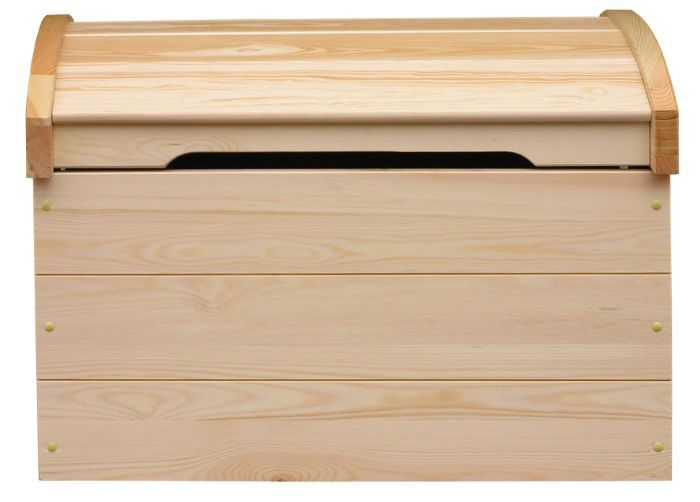Holztruhe Kiefer natur
