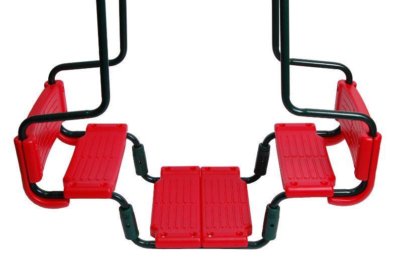 Gondelschaukel / Doppelschaukel 02 - Farbe: Rot
