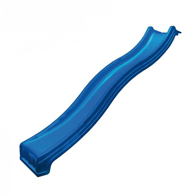 Rutsche mit Wasseranschluss - Länge 2,40 m - Farbe: Blau,