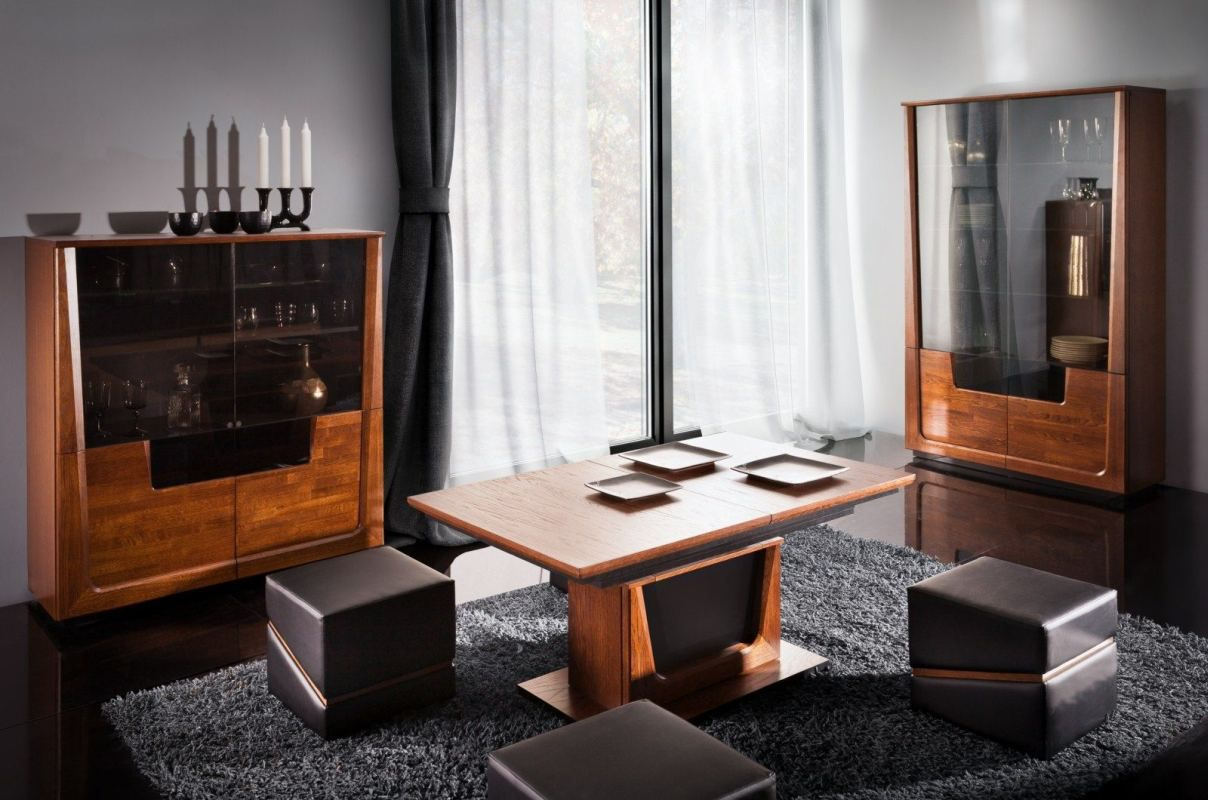 Wohnzimmer Komplett - Set J Lopar, 3-teilig, teilmassiv ...
