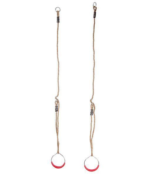 Seilringe aus Metall inkl. Seil