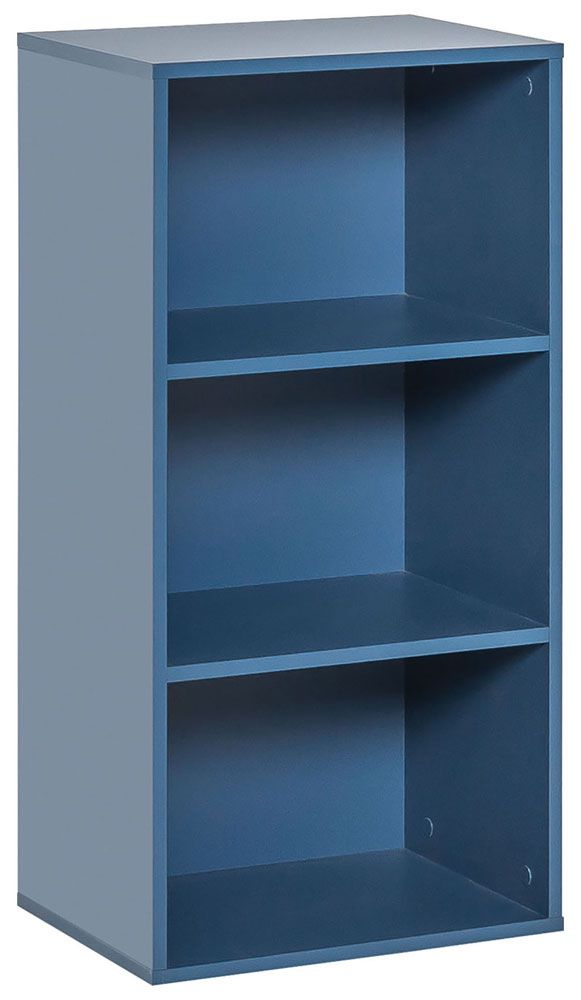 Jugendzimmer Regal Skalle 01, Farbe: Blau Abmessungen