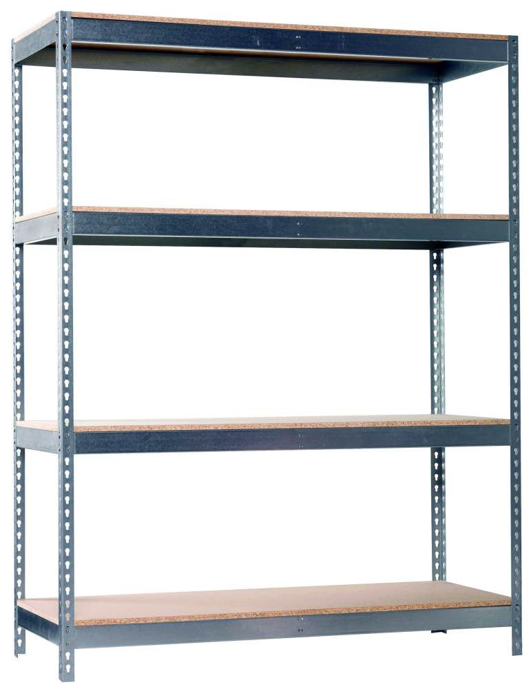 Metall Schwerlastregal (40 x 210 x 180 cm, Traglast: 180 kg