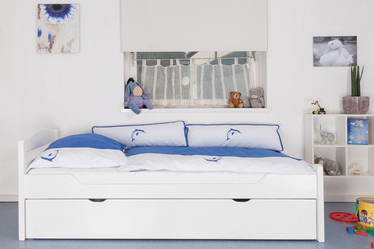 Bett 90x200 weiß