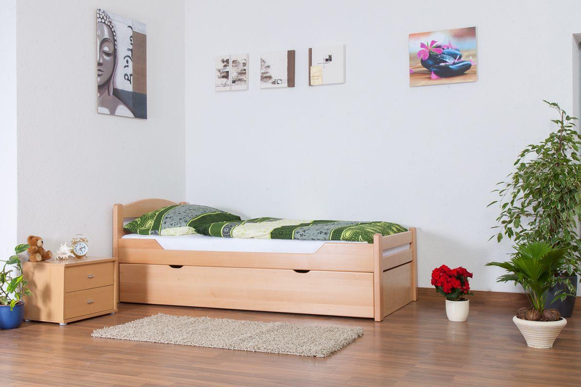 Bett mit Ausziehbett