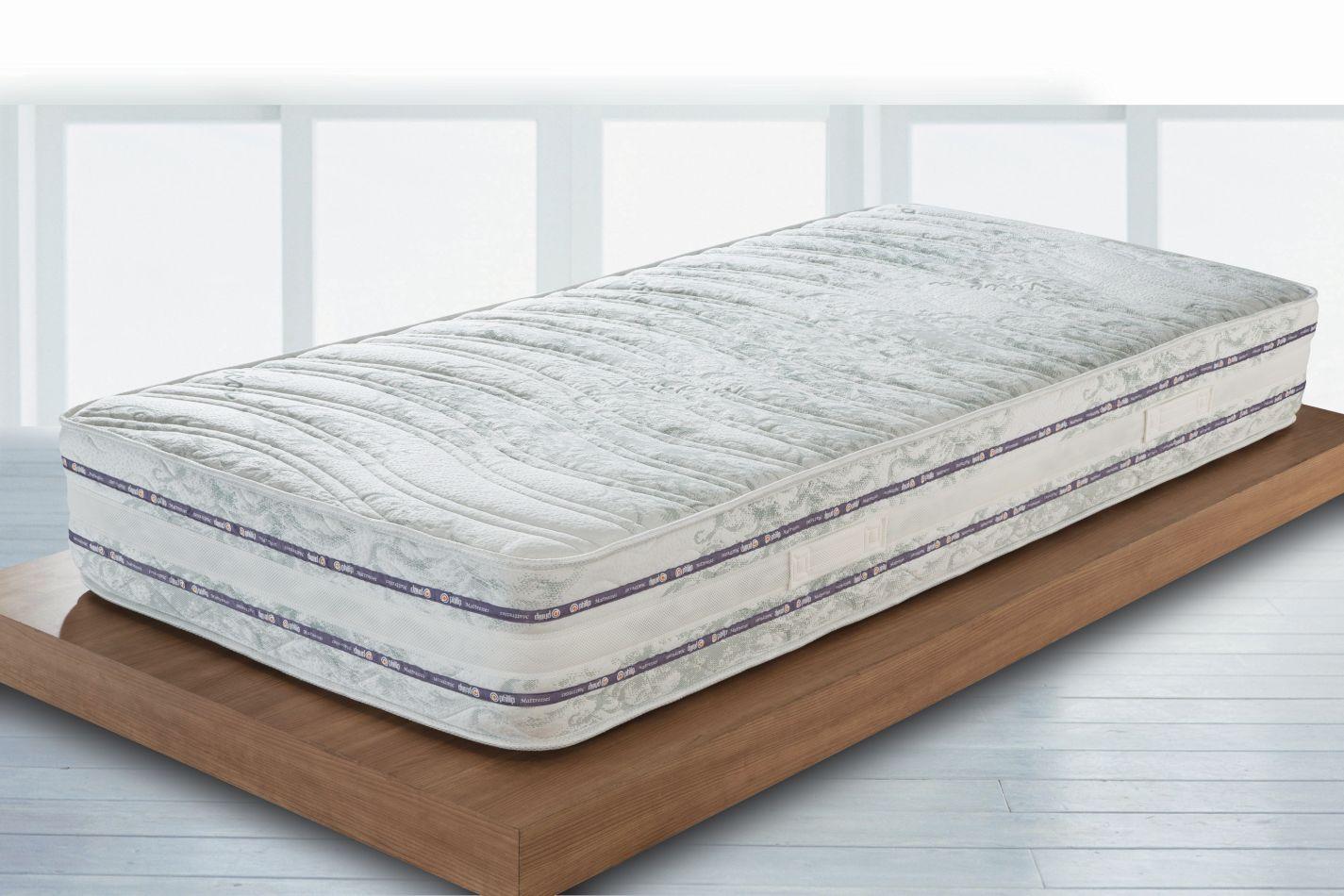 Matratze Balance mit Taschen Federkern - Abmessungen: 80 x 190 cm