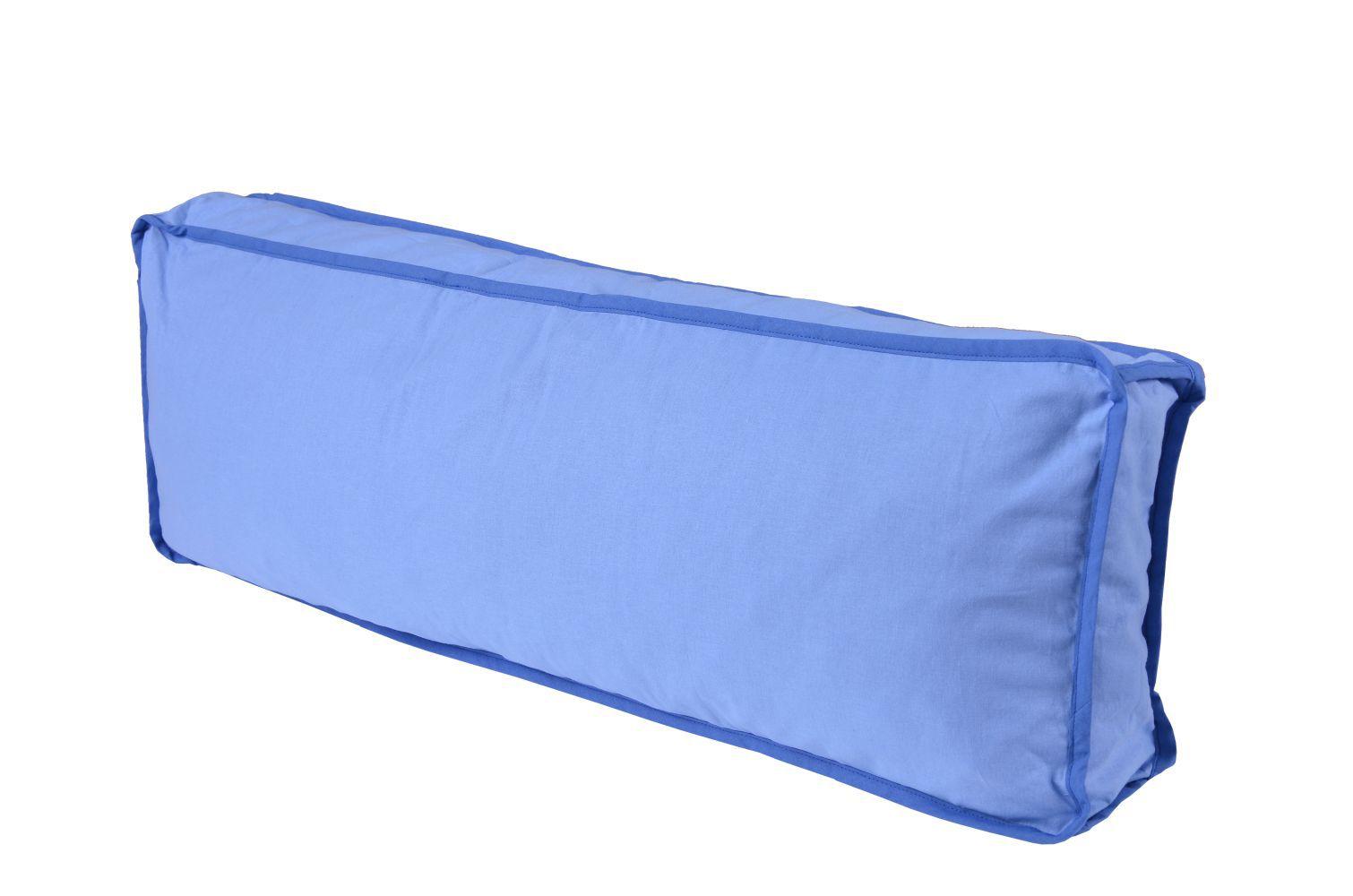 Seitenkissen - Farbe:Hellblau/Dunkelblau