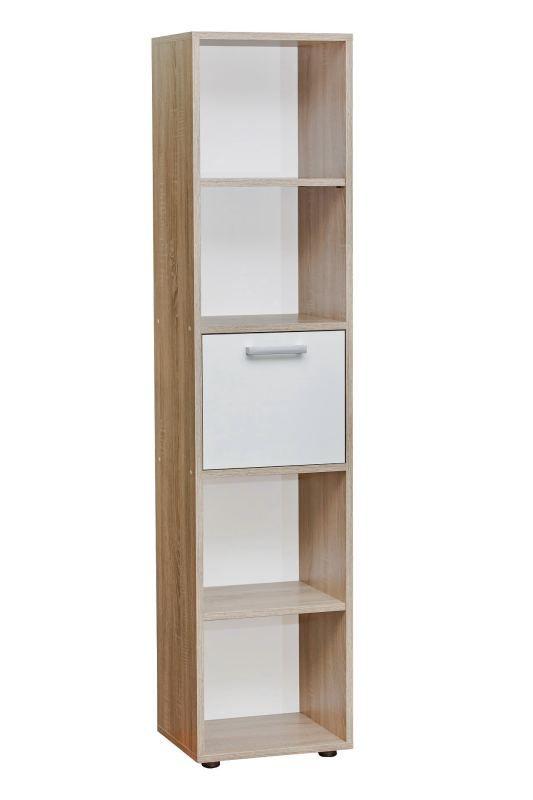 Bücherregal 180 cm breit, Farbe: Nuss, Höhe (cm) 20, Länge