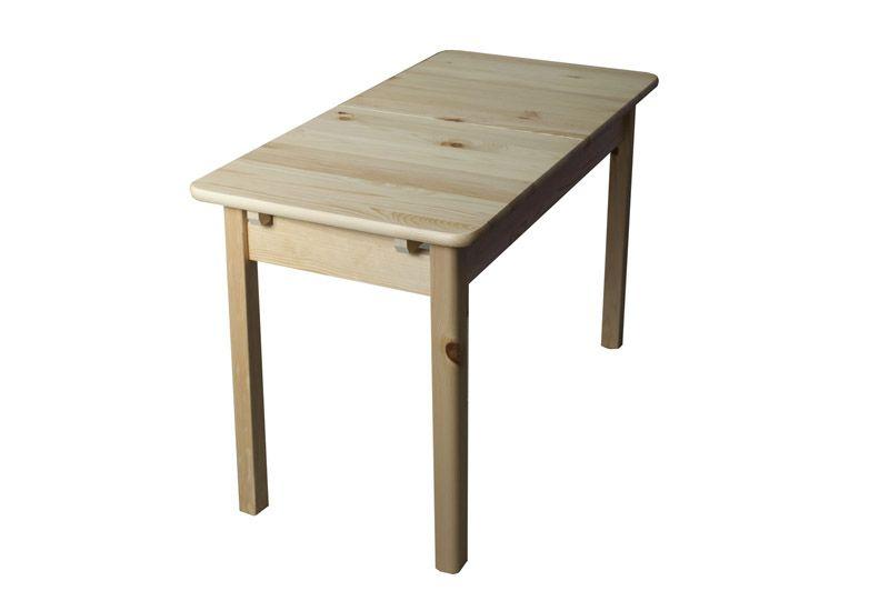 Tisch Ausziehbar Kiefer Massiv Vollholz Natur 008 Abmessung 75 X