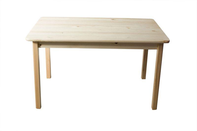 Tisch massiv 001 (eckig) - Abmessung 75 x 80 x 50 cm (H x B x T)