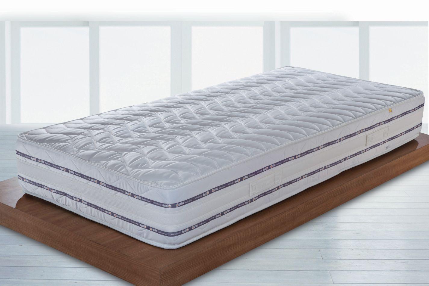 Matratze Elegance Medico mit Bonell Federkern - Abmessung: 90 x 160 cm