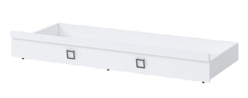 Bettkasten für Bett Benjamin, Farbe: Weiß - Liegefläche: 80 x 190 cm (B x L)