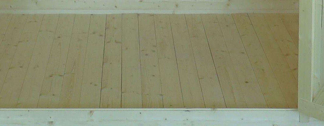 Fußboden für das Gartenhaus Sommerruhe 3