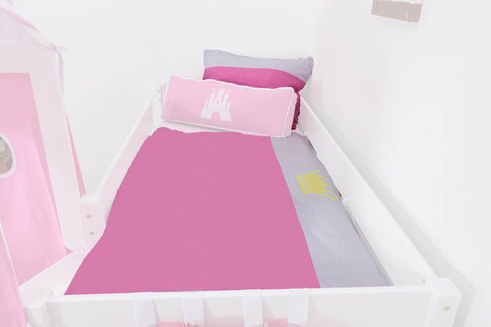 Motiv - Kinder - Bettwäsche 2-teilig - Farbe: Prinzessin