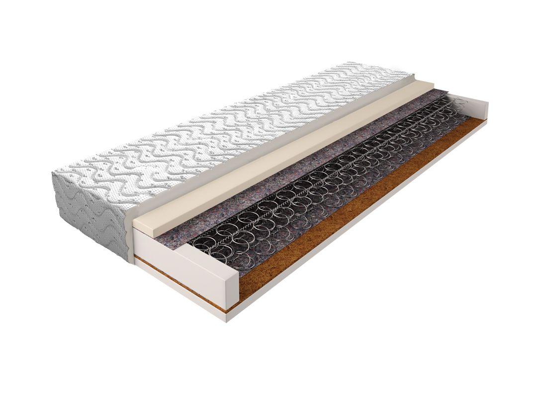 Matratze mit Bonellfederkern 020 - Größe: 120 x 200 cm, Höhe: 17 cm