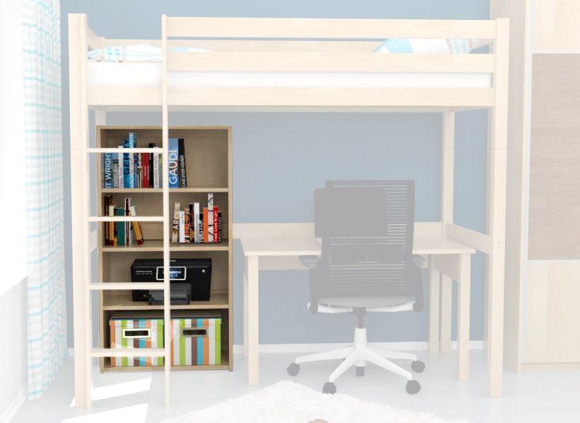 Bücherregal massiv Holz