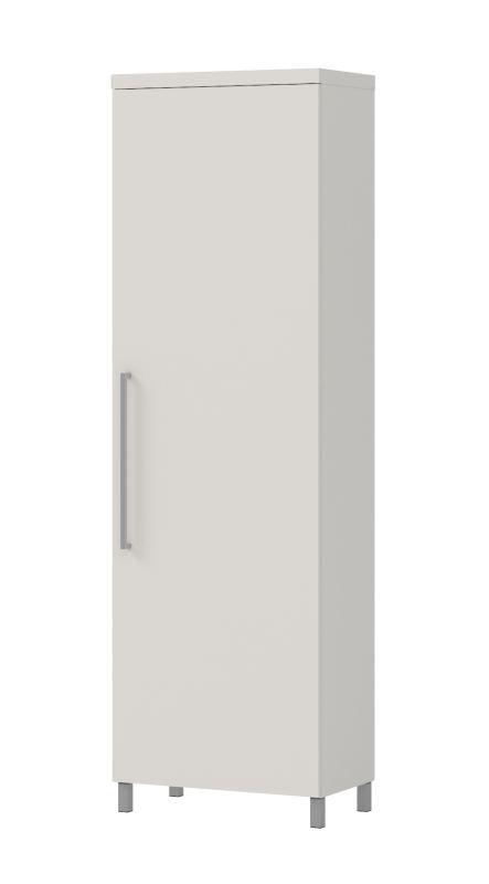 Schrank  Siusega 01, Farbe: Creme - 194 x 60 x 35 cm (H x B x T)