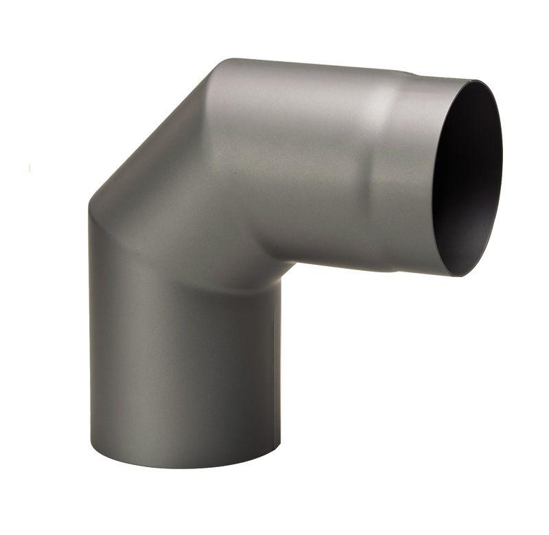 Rauchrohrbogen 90 Grad klein ohne Reinigungstür - SSV: Nur solange Vorrat reicht!