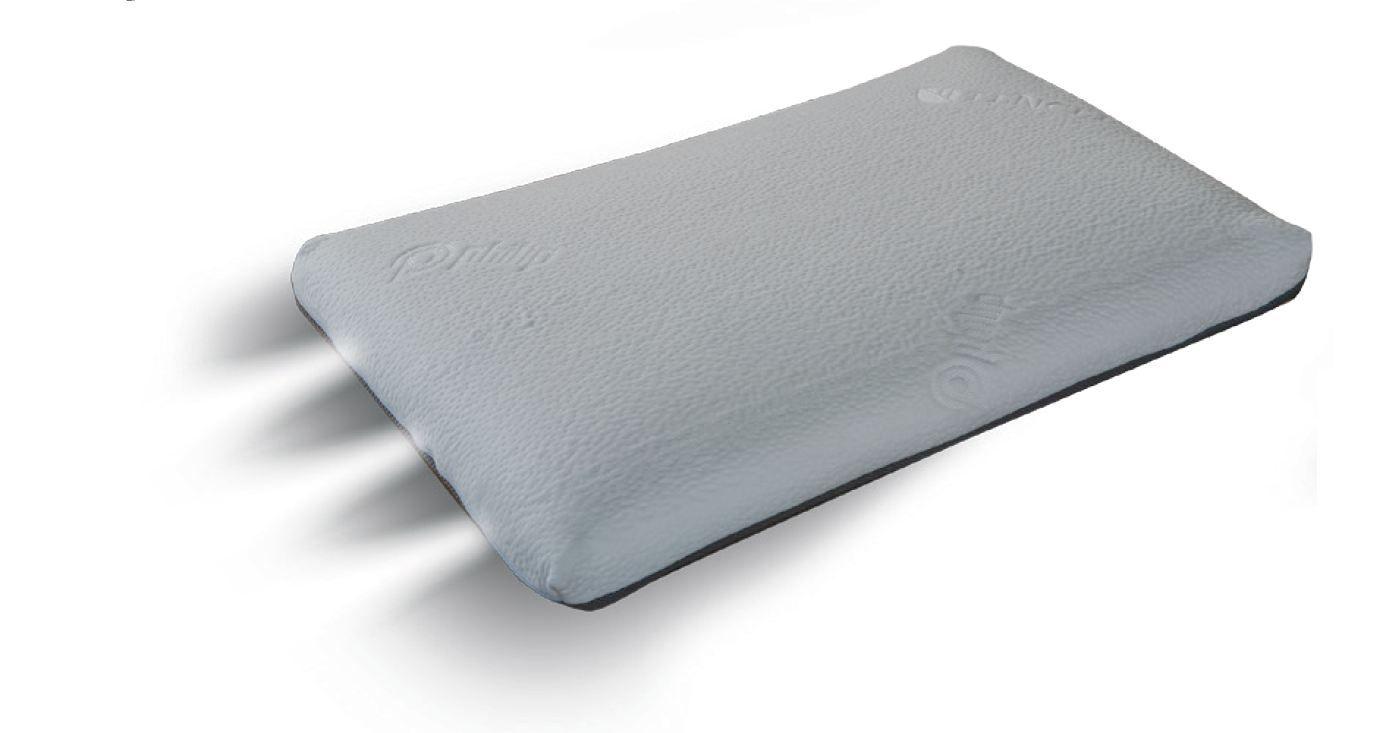 Kissen Memory Standard, Material: Memory Schaum, Maße: 13 x 42 x 72 cm (H x B x T)