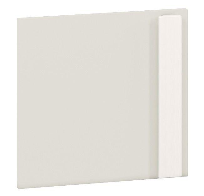 Front für Jugendzimmer - Regal Greeley 06, Farbe: Hellgrau - Abmessungen: 35 x 37 x 2 cm (H x B x T)