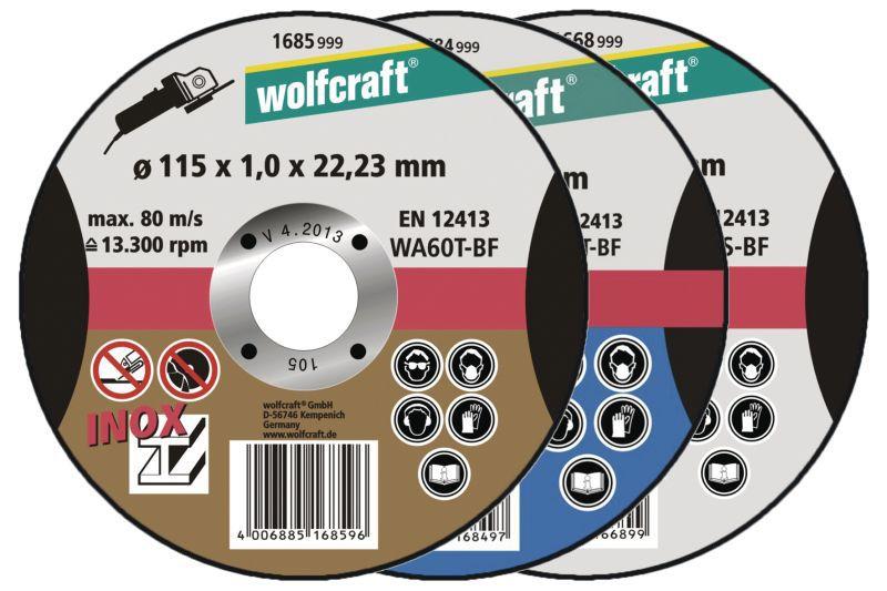 Wolfcraft Trennscheiben extra dünn