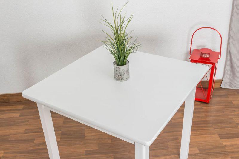 Weisser Tisch 80 X80