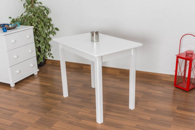 Weißer kleiner Tisch
