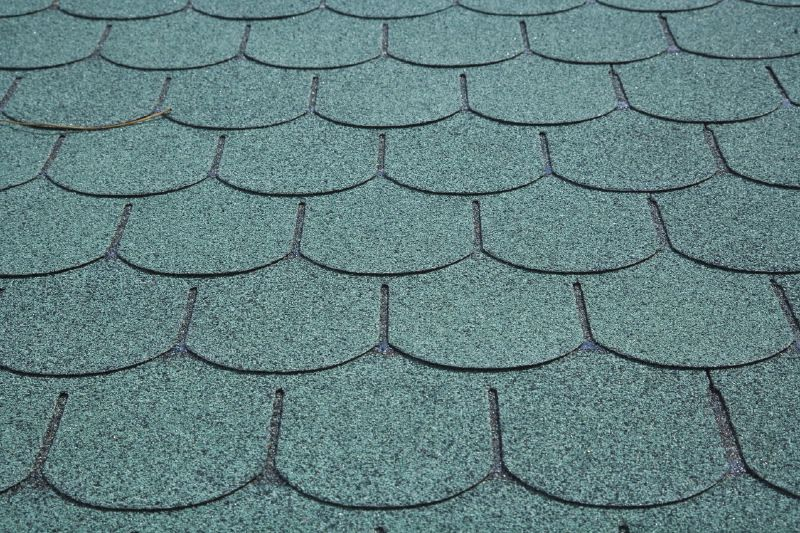 Dachschindeln Biberschwanz - Farbe: Grün,
