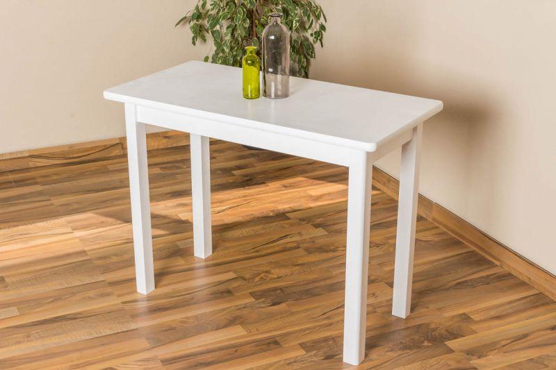 Tisch weiß 100 cm