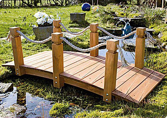 Teich-Brücke