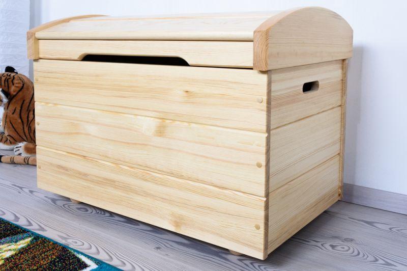 Holztruhe natur