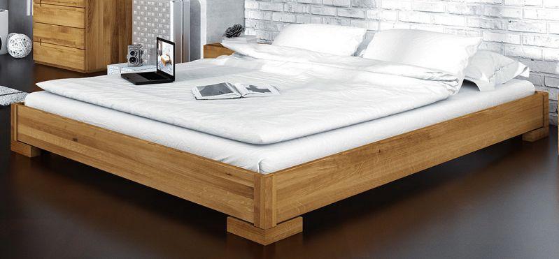 Doppelbett Kapiti 10 Wildeiche massiv geölt - Liegefläche: 180 x 200 cm (B x L)