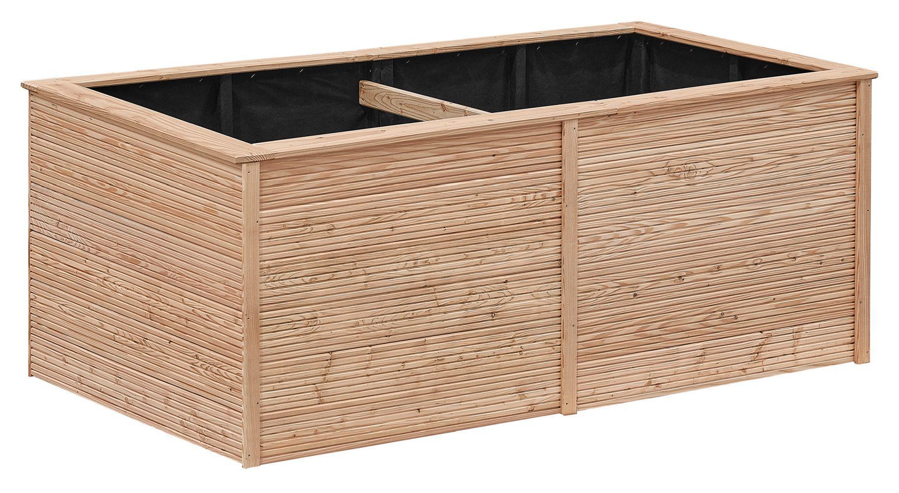 Hochbeet 01 - aus LÄRCHENHOLZ, FSC® - Abmessungen: 206 x 103 x 86 cm (B x T x H)