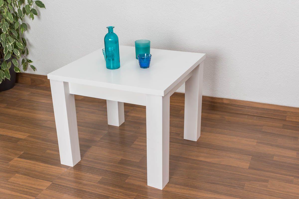 Kleiner weißer Tisch