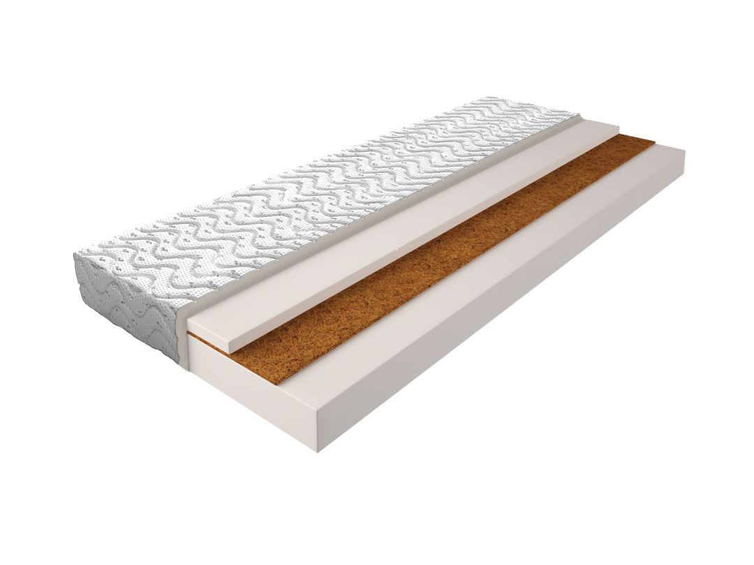 Matratze mit Schaumstoffkern 003 - Größe: 120x200 cm, Höhe: 14cm