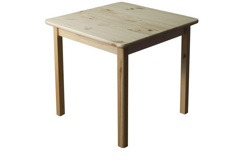 Massivholz Esstisch 80x80