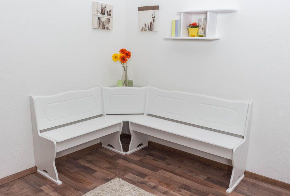 Sitzecke Küche weiß